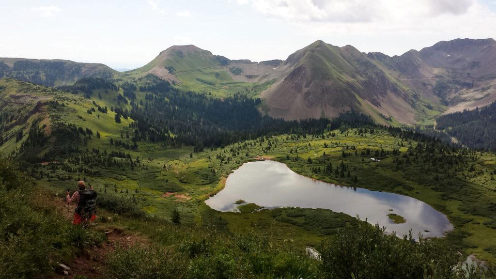 hiking lake becky jensen